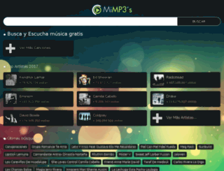 mimp3s.com screenshot