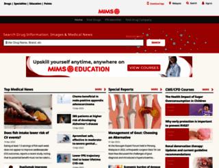 mimsonline.com screenshot