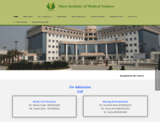 mimsup.org screenshot