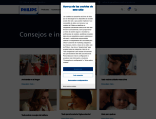 mimundo.philips.es screenshot