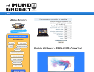 mimundogadget.com screenshot