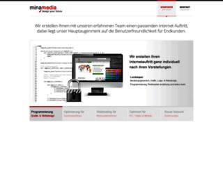 mina-media.de screenshot