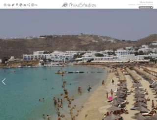 mina-studios.gr screenshot