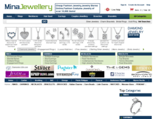 minajewellery.com screenshot