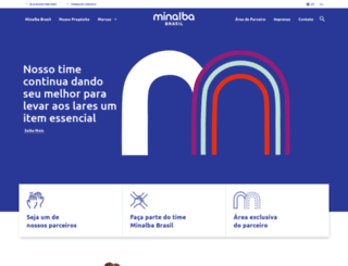 minalba.com.br screenshot