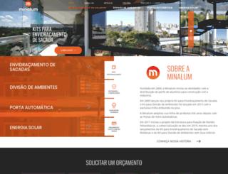 minalum.com.br screenshot