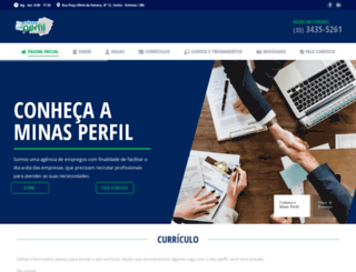 minasperfil.com.br screenshot