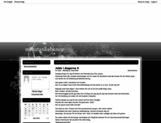 minatankebanor.bloggplatsen.se screenshot