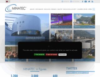 minatec.com screenshot