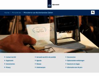minbuza.nl screenshot