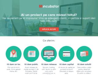 mincubator.ro screenshot