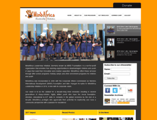 mindafrica.org screenshot