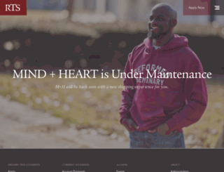 mindandheart.rts.edu screenshot