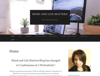 mindandlifematters.wordpress.com screenshot