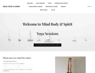 mindbodyandspirit.ca screenshot