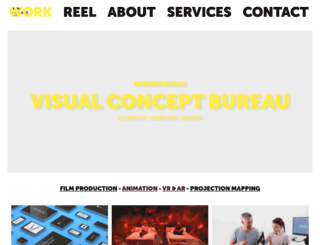 mindconsole.net screenshot