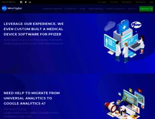 minddigital.com screenshot
