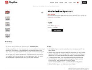 minderheiten-quartett.de screenshot