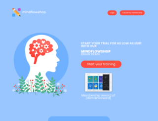 mindflowshop.com screenshot