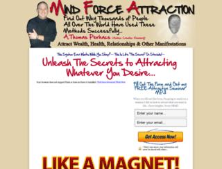 mindforceattraction.com screenshot