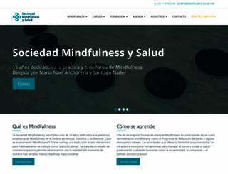 mindfulness-salud.org screenshot