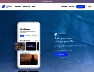 mindfulness.com screenshot