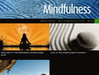 mindfulness.performics.com screenshot