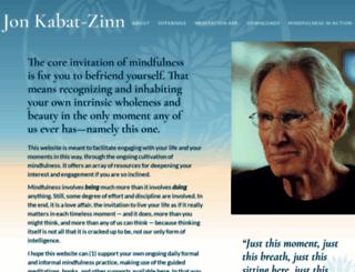 mindfulnesscds.com screenshot