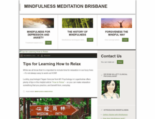 mindfulnessmeditationbrisbane.com screenshot