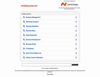 mindfulsuccess.net screenshot