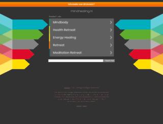 mindhealing.nl screenshot