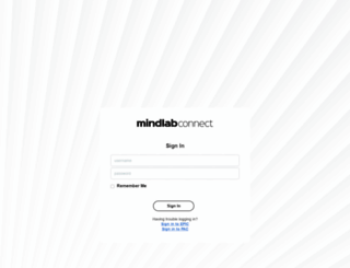 mindlabconnect.com screenshot