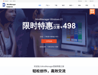 mindmanager.cc screenshot