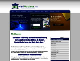 mindmaximus.com screenshot