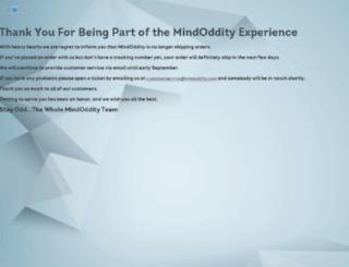 mindoddity.com screenshot