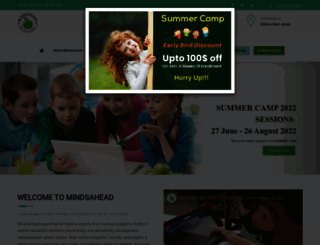 mindsahead.com screenshot