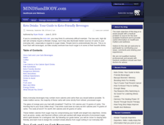mindsandbody.com screenshot