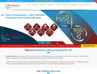 mindscansoftware.com screenshot