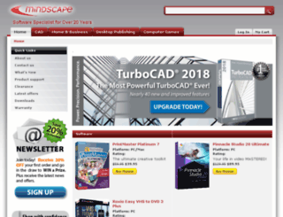 mindscape.com.au screenshot