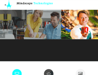mindscapetechnologies.com screenshot