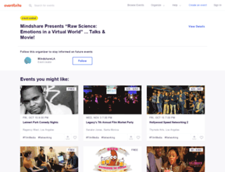mindshare.eventbrite.com screenshot
