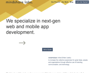 mindsharelabs.com screenshot