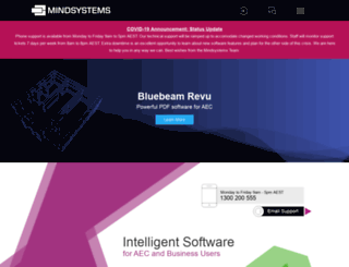 mindsystems.com.au screenshot
