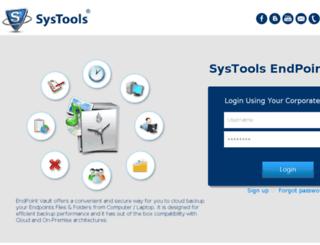 mindteck.endpointvault.com screenshot