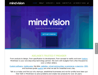 mindvision.com.au screenshot
