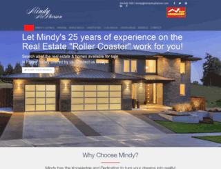 mindymcpherson.com screenshot
