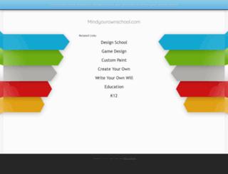 mindyourownschool.com screenshot