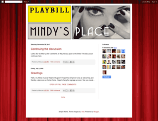 mindysplace-mindy.blogspot.com screenshot