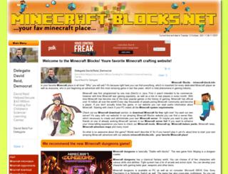 minecraft-blocks.net screenshot