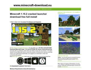 minecraft-download.eu screenshot